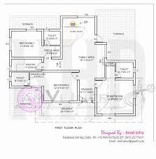 kerala home design single floor plans house plan 5 bedroom house elevation with floor plan kerala home