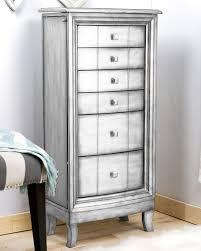 Anti Tarnish Jewelry Armoire Natalie Jewelry Armoire Silver Leaf Hives And Honey