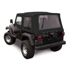 black jeep wrangler sierra offroad 1997 2002 jeep tj soft w upper doors black denim
