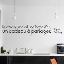 citation sur la cuisine stickers déco cuisine citation célèbre sur la cuisine