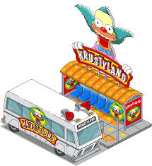 krustyland decorations the simpsons tapped out news