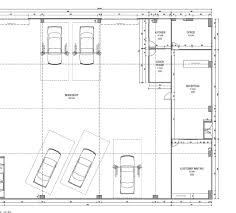 plan layout site measure huge tyre store u0026 workshop plan cad