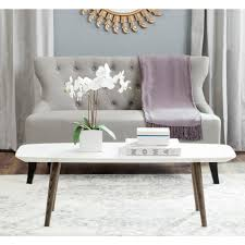 safavieh alec coffee table medium oak safavieh coffee tables accent tables the home depot