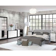 Black Or White Bedroom Furniture Birlea Lynx Black U0026 White Bedroom Furniture Big Savings On Birlea