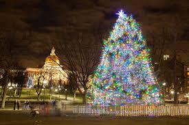 macy s tree lighting boston ho ho ho christmas in boston the talking trails