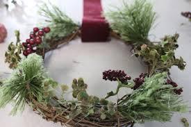 christmas chair wreaths simple cozy charm
