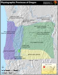 Crater Lake Oregon Map by Photo Gallery U S National Park Service