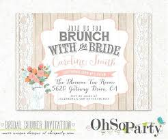 bridal shower brunch invitations bridal shower brunch invitations ryanbradley co