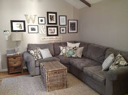 adorable grey couch living room in create home interior design