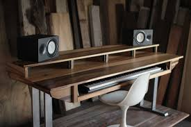 Music Studio Desk Plans by Diy Fully Custom Built Studio Desk U2013 B U2026 Pinteres U2026