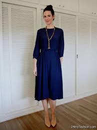 navy blue skater dress asos 2016 2017 b2b fashion
