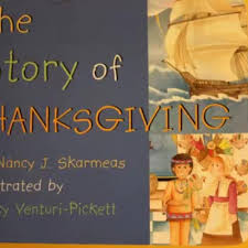 the story of thanksgiving by nancy skarmeas