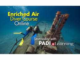padi nitrox enriched air diver indepth dive centre phuket idc