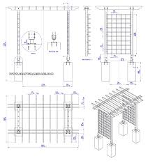 wood arbor plans home outdoor decoration