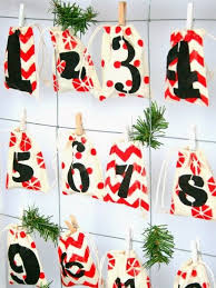 27 best hanging storage bag diy christmas advent calendar ideas