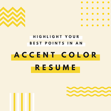 canva color palette ideas emphasize career highlights on your resume by using color