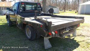 Bale Beds For Sale 2006 Chevrolet Silverado 3500 Bale Bed Pickup Truck Item D