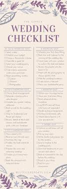 complete wedding checklist s complete checklist for a simple wedding infographic best