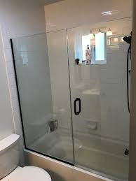 Tub Shower Door Tub Shower Door Patriot Glass And Mirror San Diego Ca