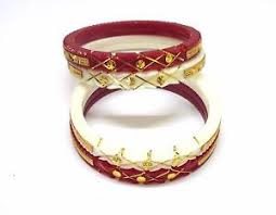 shakha pola bangles indian ethnic gold plated pola shakha fashion jewelry