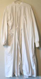vintage doctors surgical gown creepy mad scientist halloween