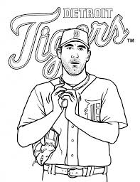 good detroit tigers coloring pages 75 in download coloring pages