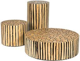 creative custom log craft rustic modern wood furniture