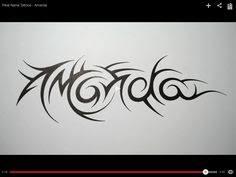 tribal name tattoos amanda diy crafts that i