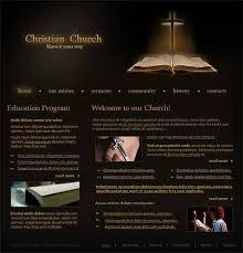 christian church website template 1011 amazing flash header and