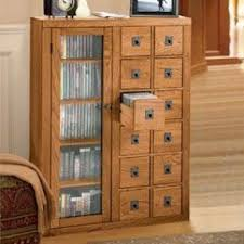 Oak Cd Storage Cabinet Wood Cd Storage Foter
