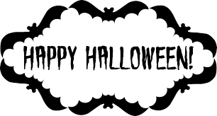 happy halloween no background halloween text pictures cliparts co