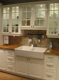 drop in farmhouse kitchen sink love this drop in apron front sink and butcher block counter tops
