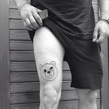 cute leg tattoo design for men tattoos for men