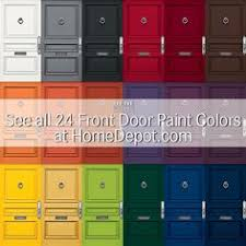 the best paint colors for a front door makeover