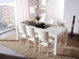 dining room 3 exotic white dining room set for home design