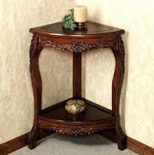 small corner accent table good furniture table corner of small corner accent table hismco