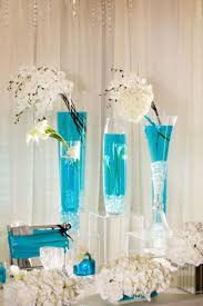 Blue Vases For Wedding Blue Tall Wedding Centerpieces Other Picture Oftall Blue Wedding