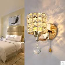 Pull Chain Sconce Discount Stainless Crystal Sconces 2017 Stainless Steel Crystal