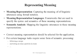these meaning bil711 natural language processing ppt video online download