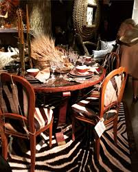 Zebra Dining Chairs Maison Jansen Louis Xvi Style Dining Chairs In Zebra Hide Set Of