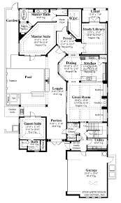 mediterranean house plans with courtyard hacienda courtyard style home plans with house pool two