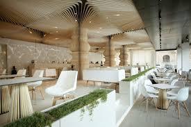 luxury graffiti cafe design by studio mode architecture interior