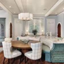 Curved Banquette Kitchen Traditional With Brilliant Curved Bench Image Ideas With Chandelier Banquette