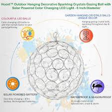 solar sparkling crystal balls