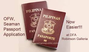 seafarers ofw passport walk in one day processing center created