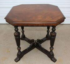 Wisconsin Furniture Company Twin Pedestal Table Mahogany Federal Antique Tables 1900 1950 Ebay