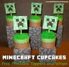 minecraft cupcake ideas