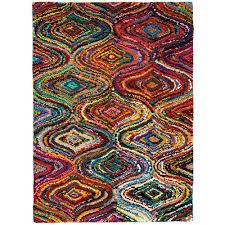 Area Rugs Okc by Anji Mountain Lantern Multicolored 4 Ft X 6 Ft Area Rug Amb1002