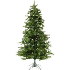 7 5 ft pre lit led noble fir artificial tree