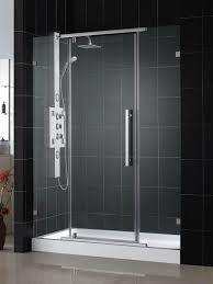 dreamline vitreo x frameless pivot shower door and slimline 36